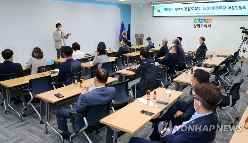 """박용진 """"이준석 헛발질 기대 싹 버려야…변해야 이긴다"""""""
