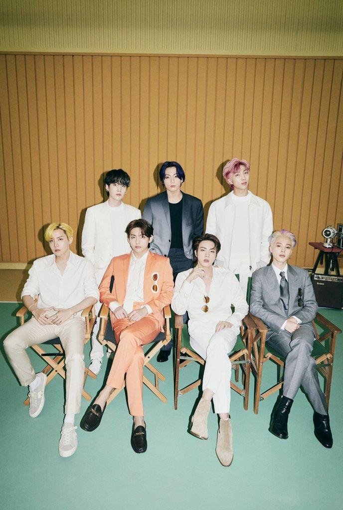BTS '버터', 빌보드 4주 연속 1위…'다이너마이트' 기록 깼다(종합)