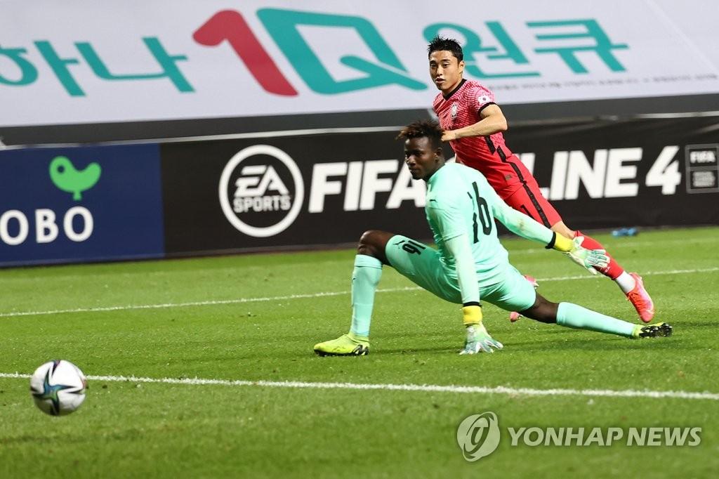 김학범호, 가나와 2차전서 2-1 승리…이동준 결승골