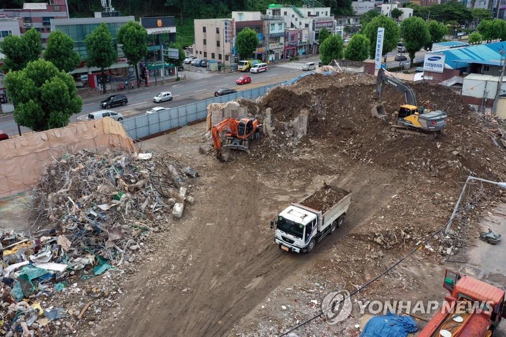 재개발사업 '정점'으로 향하는 철거건물 붕괴 경찰 수사