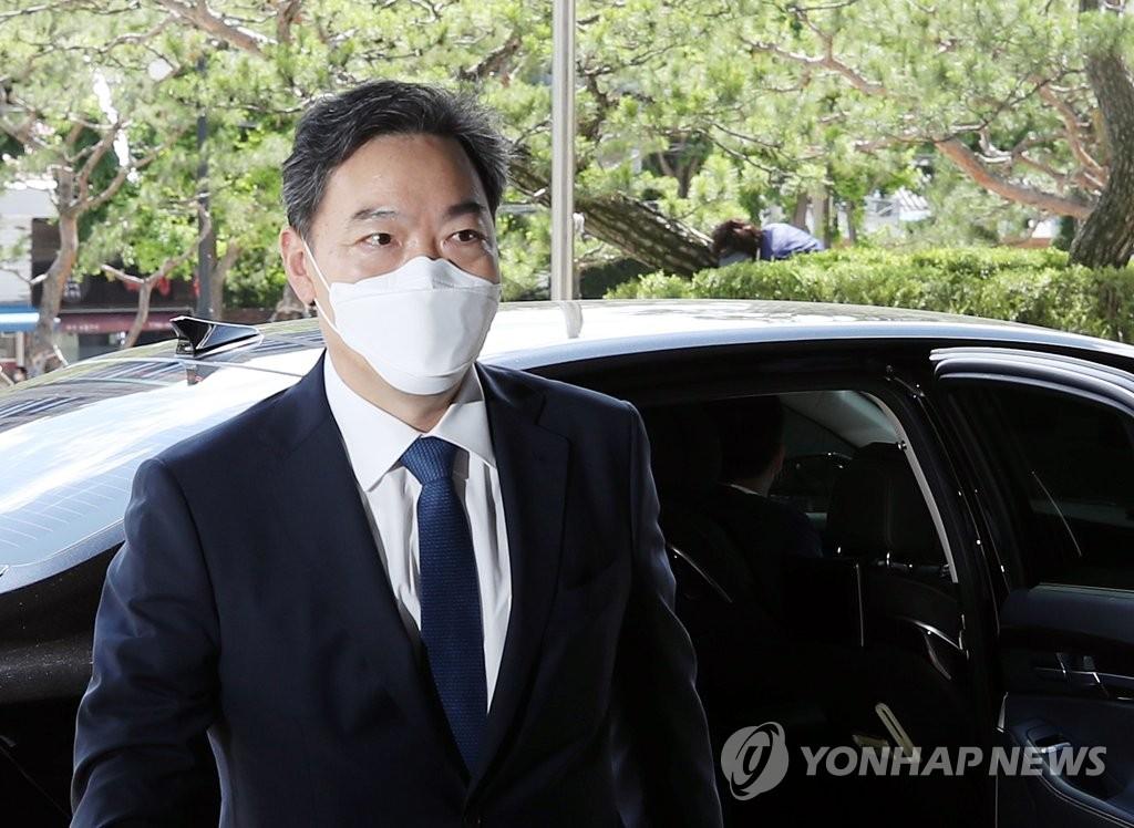 김오수, 서울중앙·남부지검 주례보고…1년만에 재개(종합)