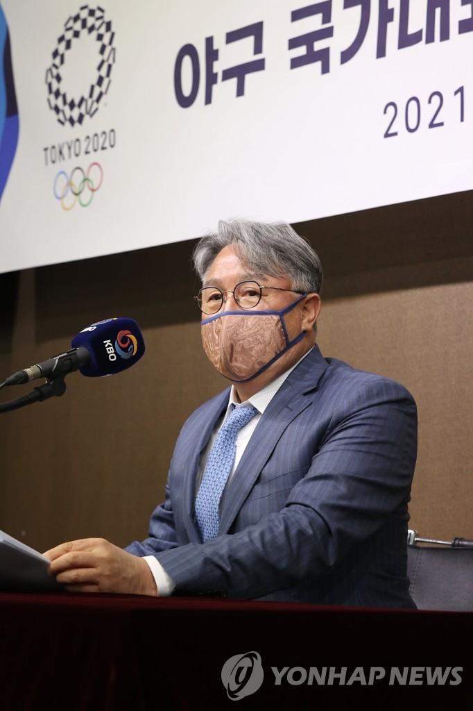 """김경문 감독 """"이의리, 차세대 국가대표 좌완 에이스"""""""