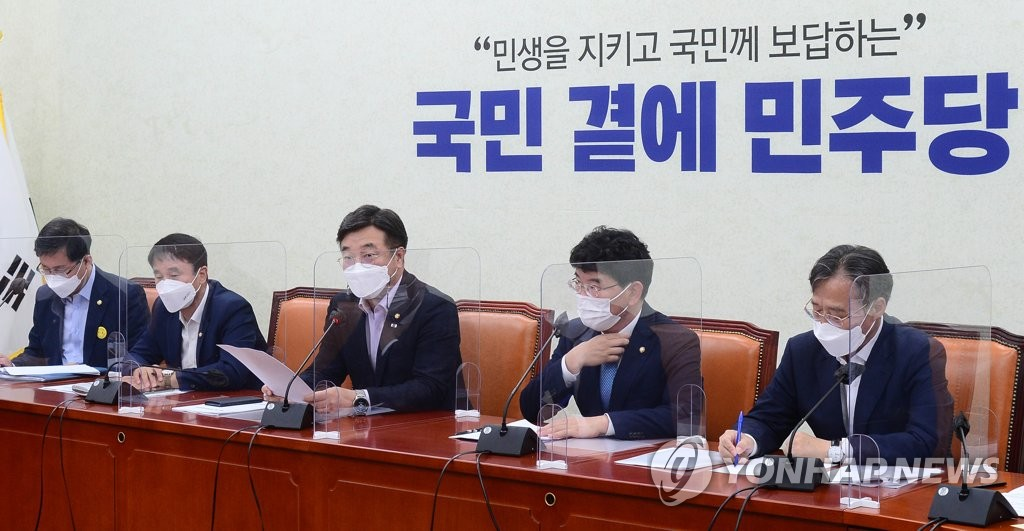 """윤호중 """"추경 논의착수…하루라도 빨리 전국민지원금 지급"""""""