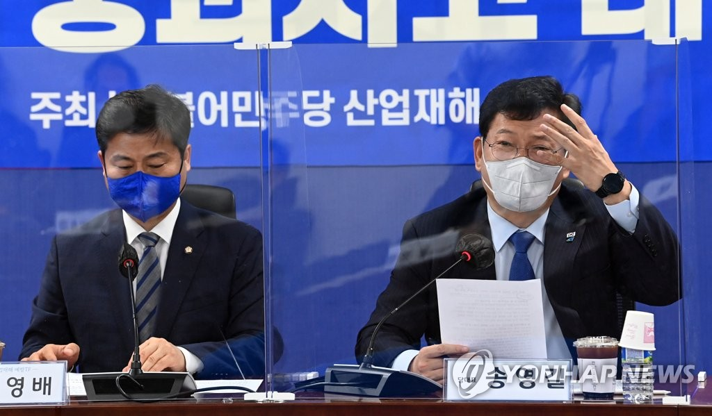'붕괴 참사' 운전사 본능 탓? 與대표 망언에 광주 분노(종합)
