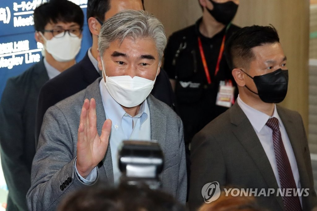 성 김 美대북대표, 오늘 이인영 예방뒤 통일차관과 고위급협의