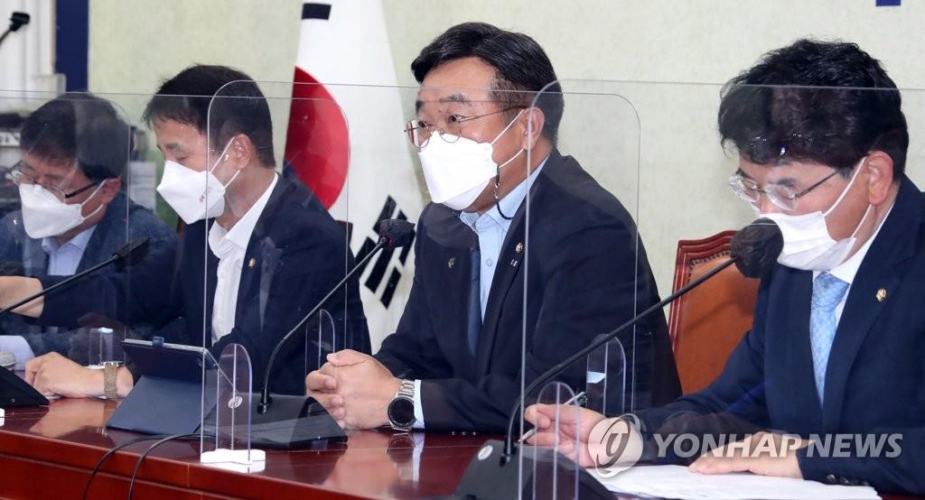 """윤호중 """"국힘, 부동산 조사 빠져나가려고 갖은 수…법꾸라지"""""""
