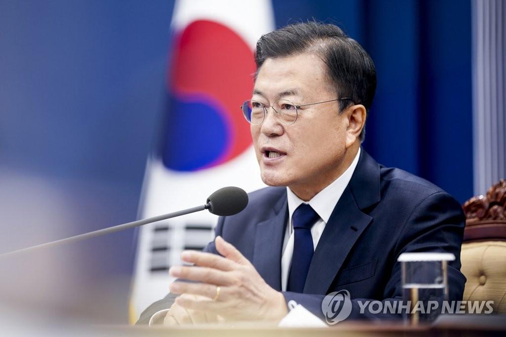 """문대통령, 4년만에 타임 표지에…""""김정은 솔직하고 결단력""""(종합)"""