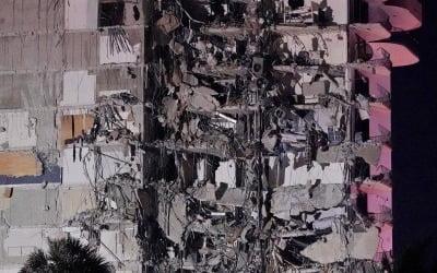 '건물 와르르'…아파트 붕괴로 99명 행불 [영상]
