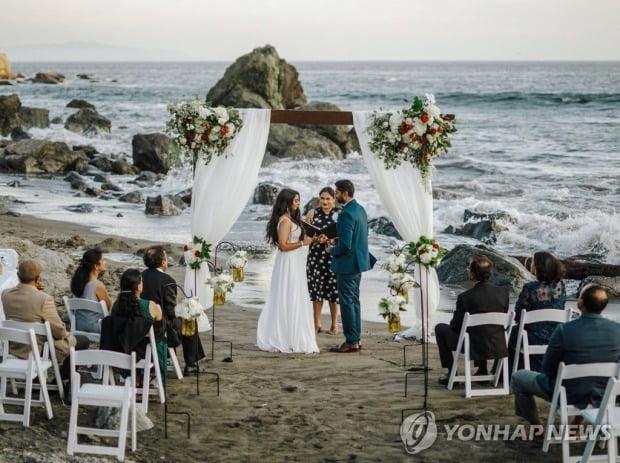 미국의 결혼식 모습