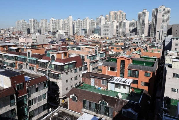 서울 시내 빌라 및 아파트 전경. / 사진=뉴스1