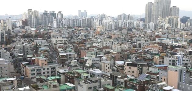 서울 광진구 자양동 일대 빌라 및 다세대 주택 밀집 지역. /뉴스1