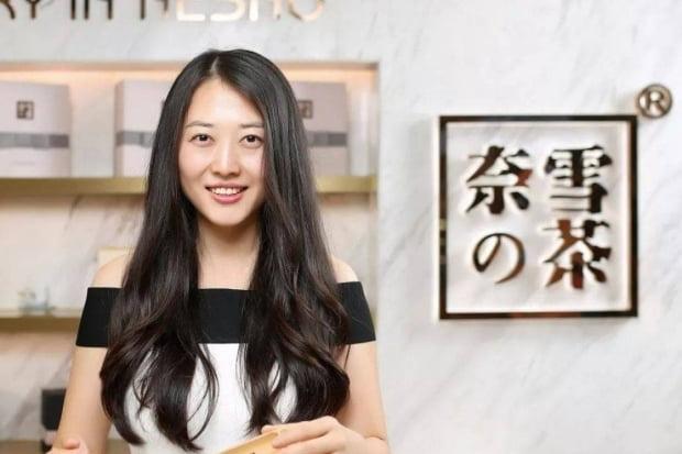 홍콩증시에 상장한 나이슈에(나유키)의 창업자 펑신
