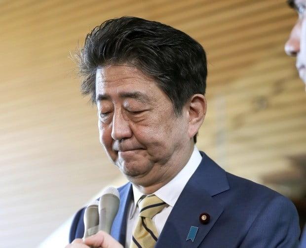 아베 전 일본 총리/사진=연합뉴스