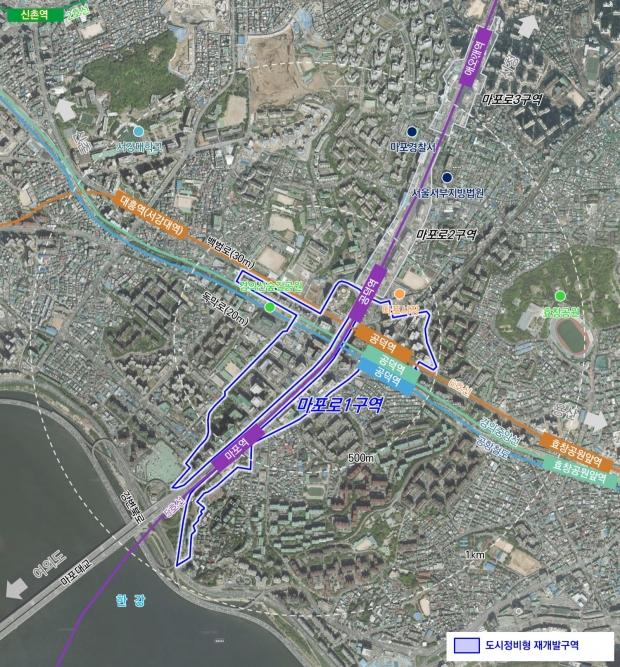 마포로 1구역 91% 재개발 완료…남아있는 공덕역 인근 정비사업 속도