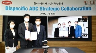 한미약품그룹, 레고켐바이오와 이중항체 ADC 항암제 공동개발