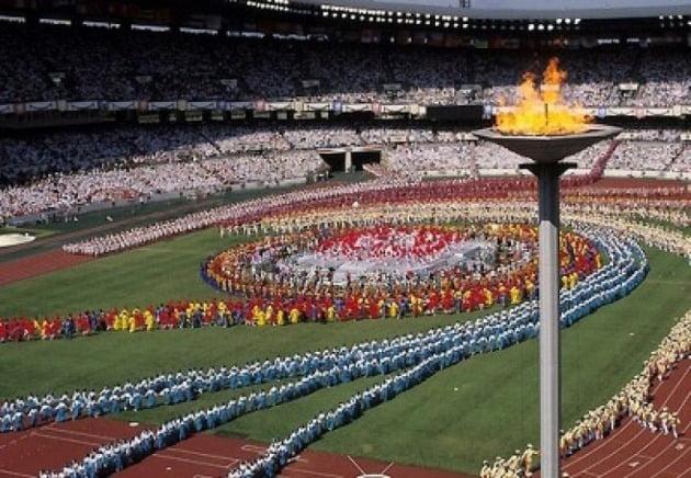 1988 서울올림픽 개막식 장면./ 한경DB