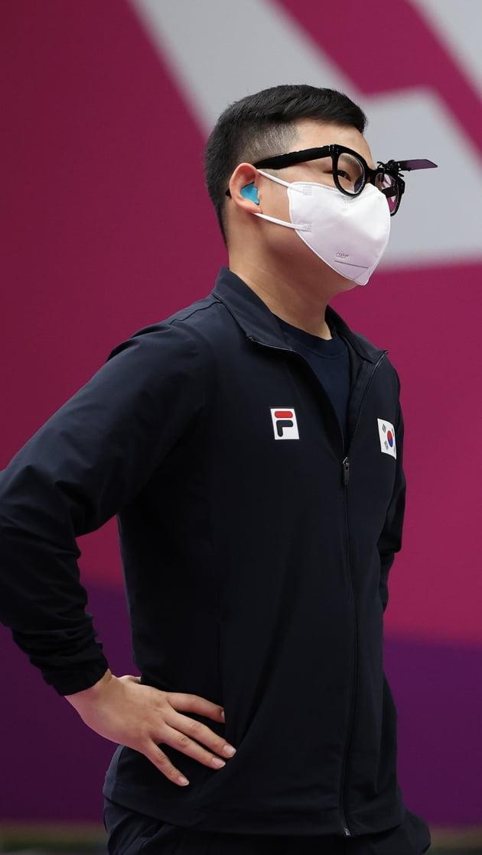 김모세가 8위로 대회를 마친 뒤 아쉬워하고 있다. 연합뉴스