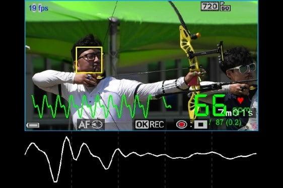 비전(Vision) 기반 심박수 측정 장비. 비접촉 방식으로 선수들의 생체정보 측정. 사진=현대차그룹