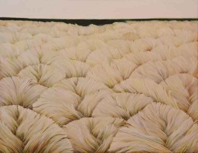 막연한 풍경, 캔버스에 유채, 116.8×91cm, 2021년