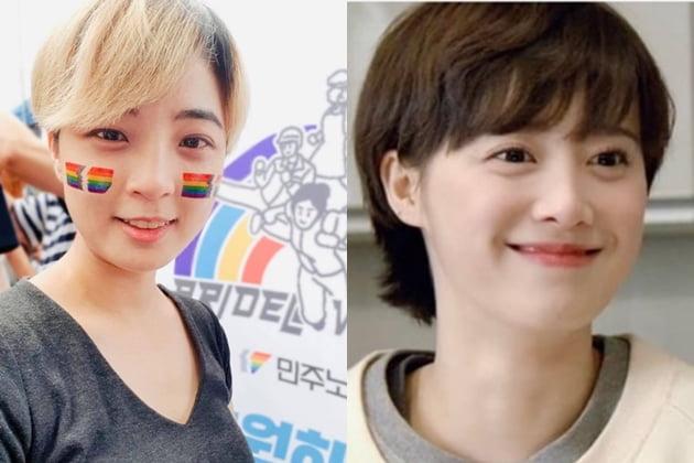 류호정 정의당 의원, 배우 구혜선 /사진=SNS