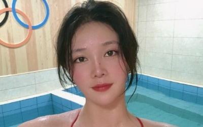 '여신 미모' 中 수구선수, 무보정 영상에 '발칵'