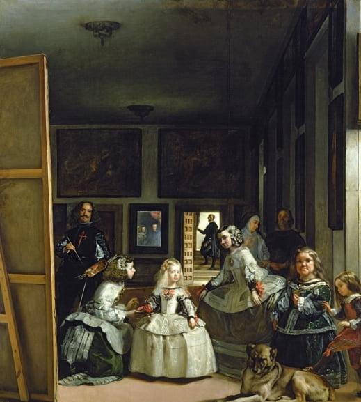 시녀들,1656, 프라도 미술관