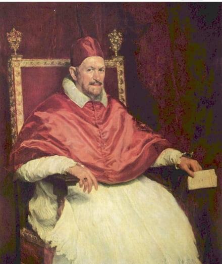 인노첸시오 10세, 1650, 로마 도리아 팜필리 미술관