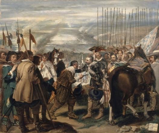 브레다의 항복, 1634~1635, 프라도 미술관