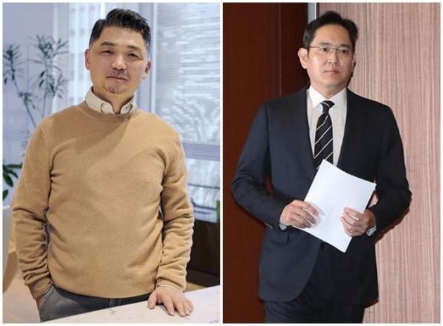 김범수 카카오 의장(좌), 이재용 삼성전자 부회장(우) [사진=카카오, 연합뉴스]