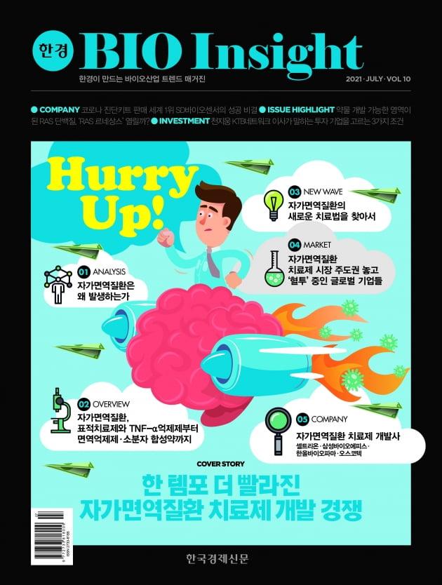 한경바이오인사이트 Vol.10 - 2021년 7월호