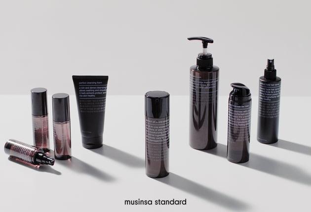 무신사 스탠다드, 2030 남성 위한 화장품 출시