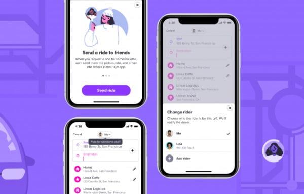 김영교 디자이너가 제안한 리프트 앱의 'RideForOthers' 기능