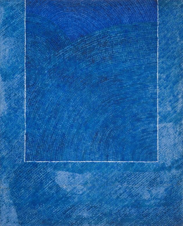 김환기, 산울림19-II-73#307, 1973, 캔버스에 유채, 264x213cm