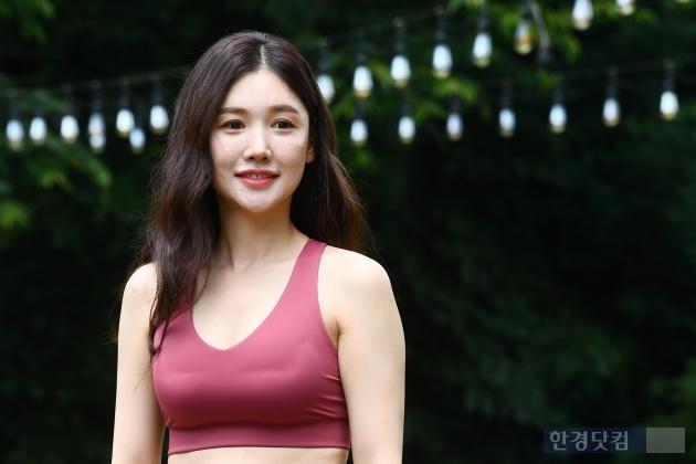 HK직캠 안인선, 운동으로 가꾼 탄탄한 몸매…'애슬레저룩 입고 아름다운 몸매 과시'