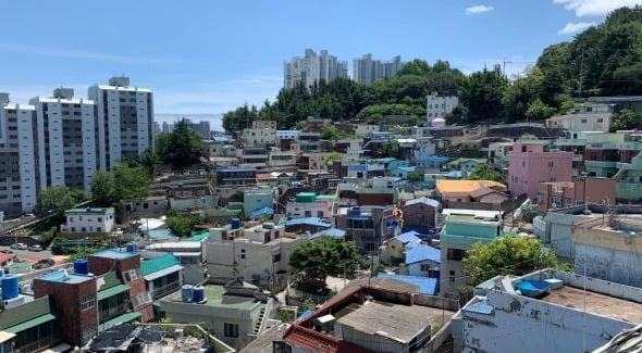 부산 진구 범천동 범천4재개발 구역 전경 (조합원 사진 제공)