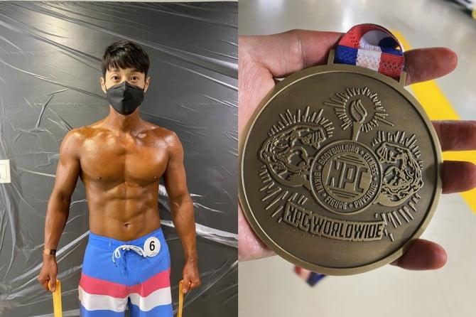 """김경현, 아마추어 피트니스 대회서 수상 """"40대의 도전으로 작은 희망 드리고 싶었다"""""""