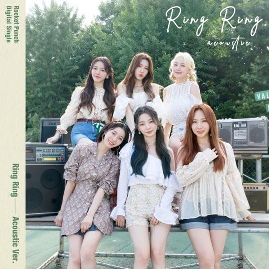 [공식] 로켓펀치, 오늘(15일) '링링' 어쿠스틱 버전 발매…여름 감성 써머송