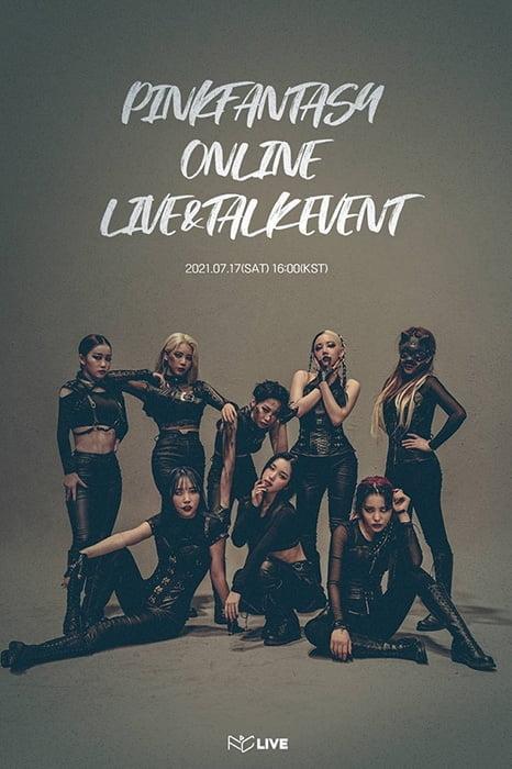 핑크판타지, 온라인 콘서트→음악방송 출연 종횡무진 활동