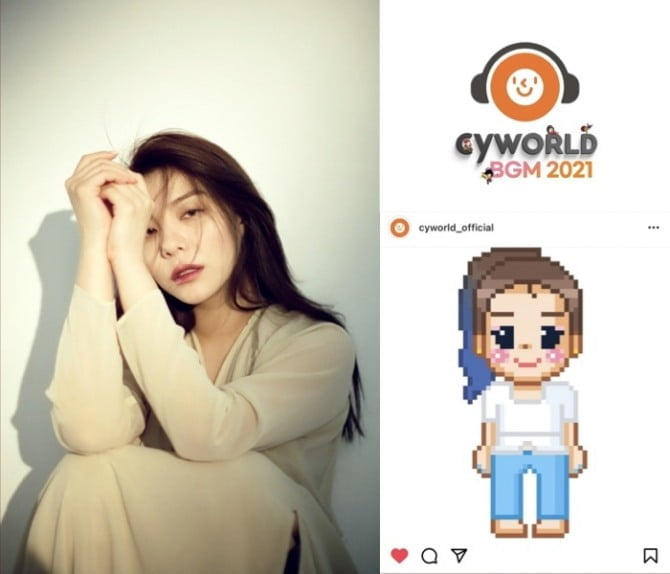 에일리, 싸이월드 BGM 누적판매 1위 박효신 '눈의 꽃' 리메이크…23일 발매 확정