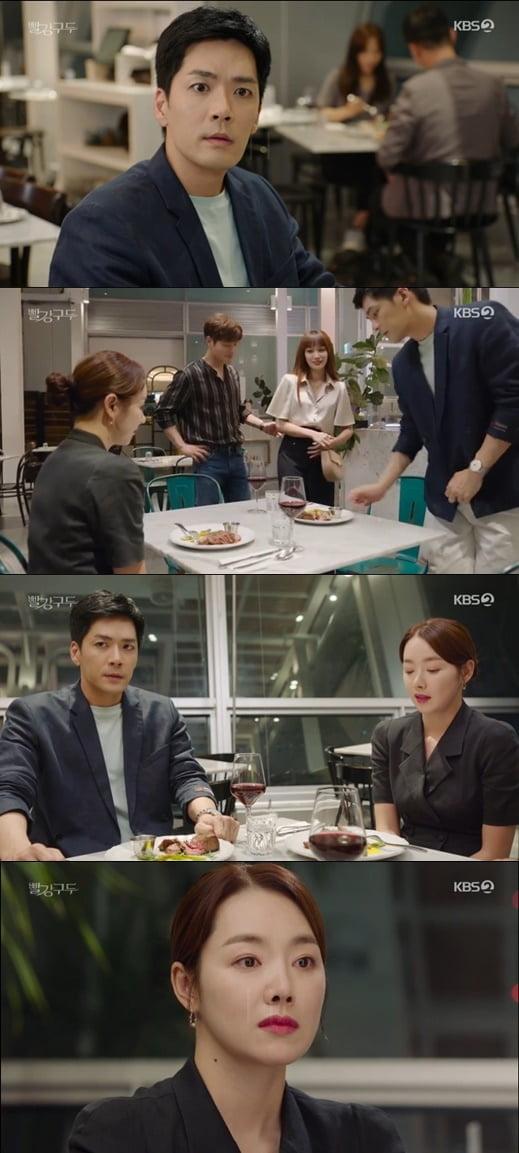 """'빨강 구두' 정유민, """"박윤재 꼬신 비결이 뭐냐?"""" 비아냥.. 소이현, 분노의 물 뿌리기"""