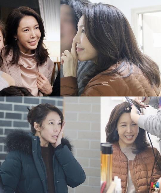 '결혼작사 이혼작곡2' 전수경, 촬영 현장 비하인드 컷 공개