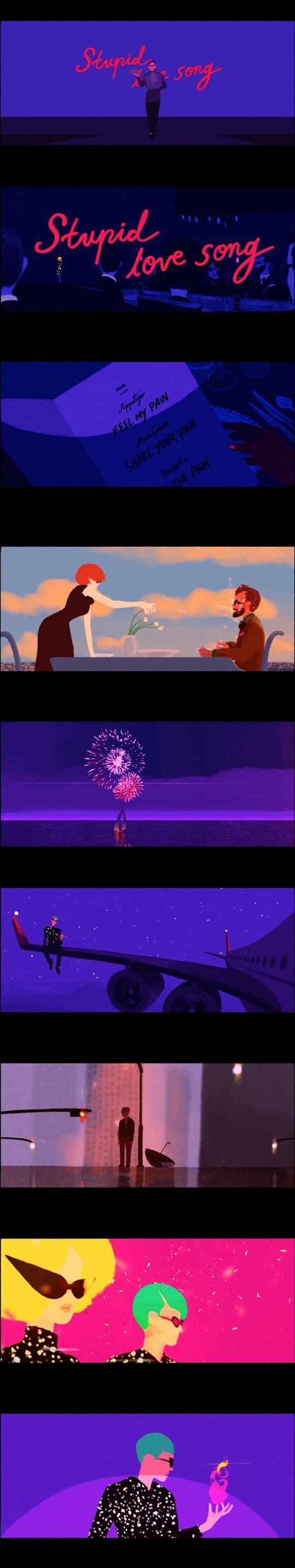 AKMU, 'Stupid love song' 오피셜 비디오 공개…아련한 감성 자극