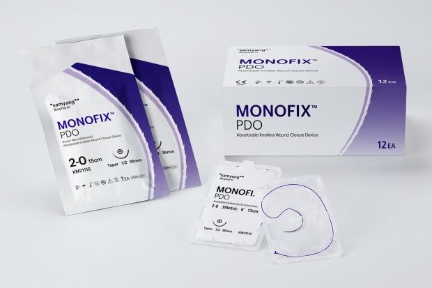 삼양홀딩스, 매듭 필요 없는 봉합사 '모노픽스' 국산화 박차
