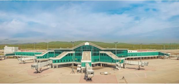 CU, 몽골의 얼굴 칭키스칸 국제공항에 업계 단독 입점