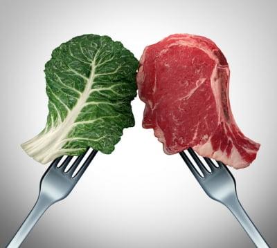 '육식파 vs 채식파' 많이 걸리는 암 종류 다르다