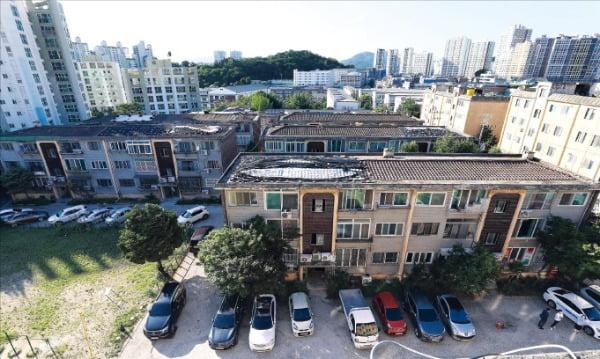 공공재건축을 추진 중인 서울 중랑구 망우1구역.  /국토교통부  제공