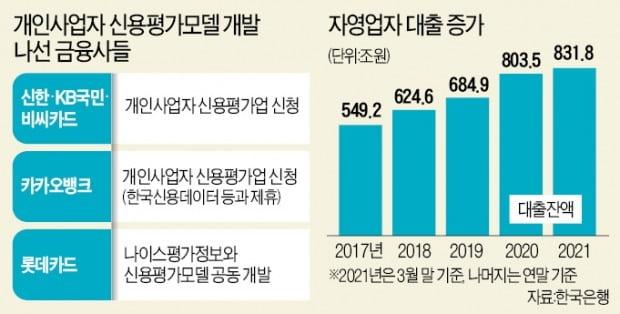 """""""자영업 신용평가 틀 만들어 800조 대출 잡자"""""""