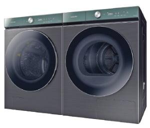 삼성 비스포크 그랑데 세탁기·건조기, AI가 빨래 세탁 알아서 척척
