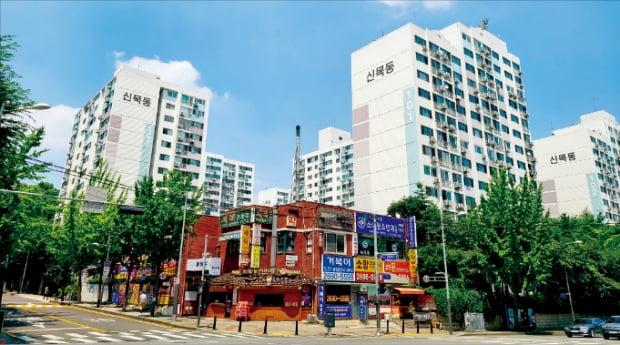 리모델링 조합 설립을 추진 중인 서울 양천구 신정동 신트리1단지.  하헌형 기자