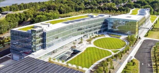 LG전자, 태양광 설치·녹지 조성…친환경 건축물로 설계
